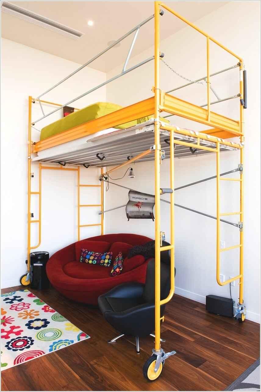 Кровати для маленьких квартир. Оригинальные идеи 6 | Дока-Мастер