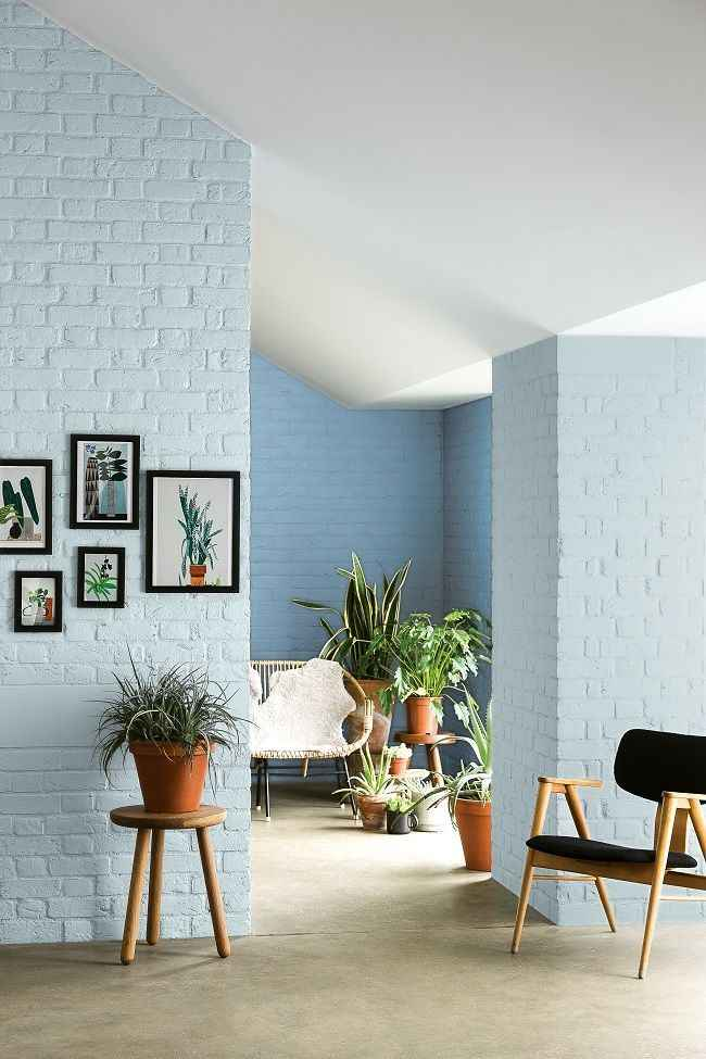 30 идей использования стен из кирпича в современном интерьере