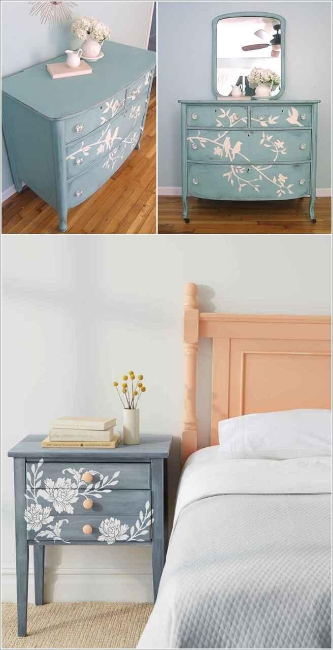 10 способов украсить дом с переделанной мебелью 7 | Дока-Мастер