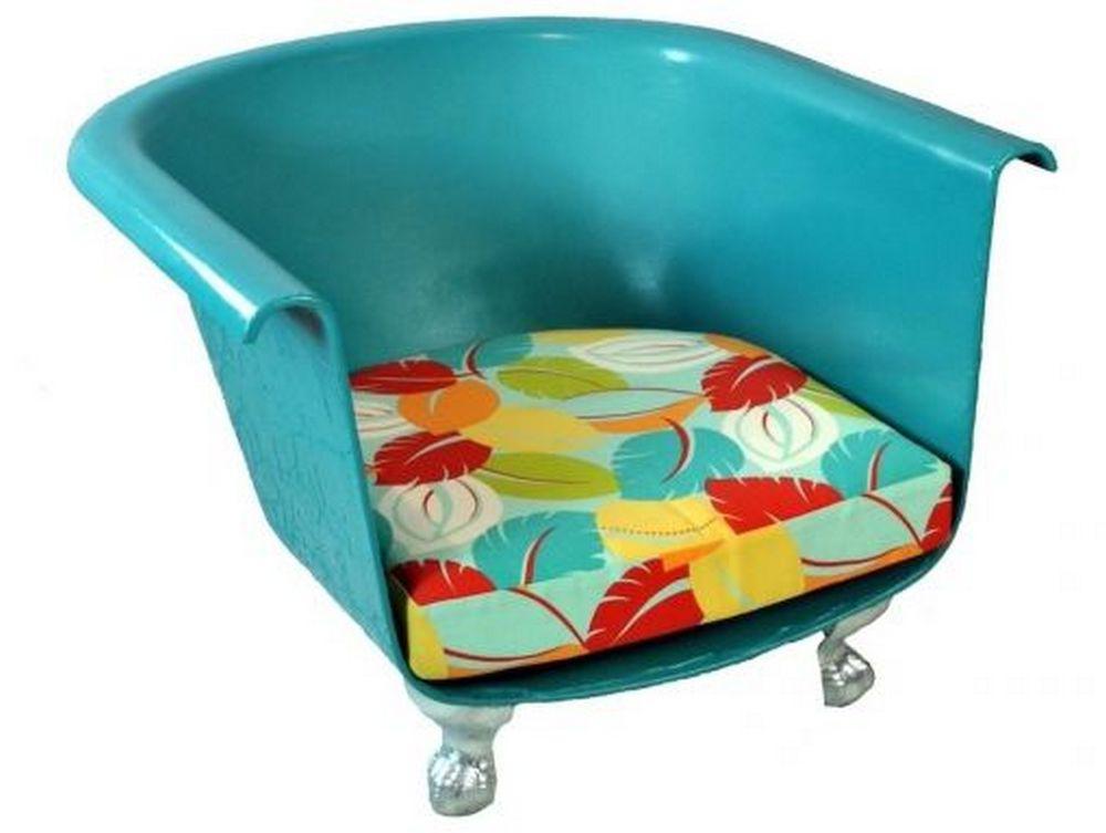 Как сделать современное кресло из старой ванны 7 | Дока-Мастер