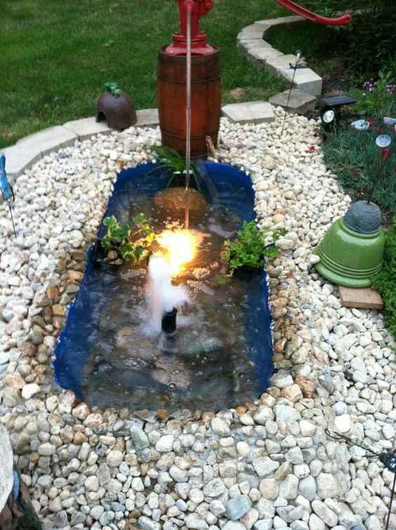 10 проектов садовых прудиков из ванны своими руками 7 | Дока-Мастер