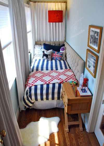 8 идей расширения пространства спальни