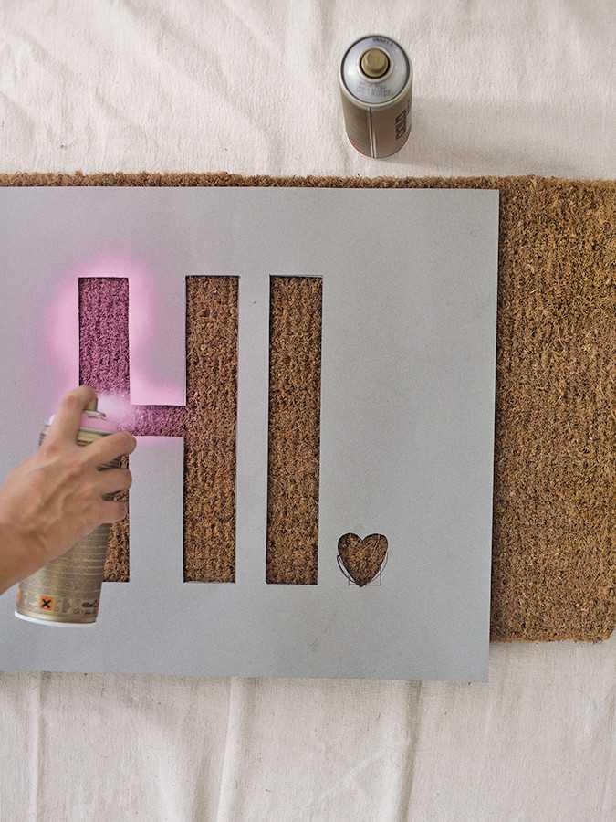 Необычные идеи ковриков перед дверью 7 | Дока-Мастер