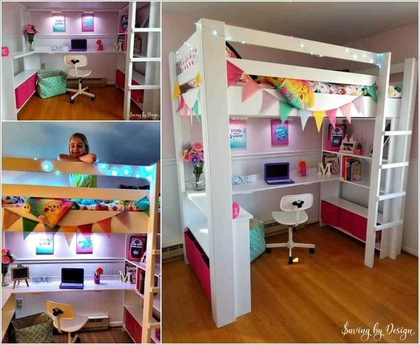 Кровати для маленьких квартир. Оригинальные идеи 7 | Дока-Мастер
