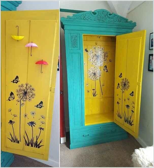 10 способов украсить дом с переделанной мебелью 8 | Дока-Мастер