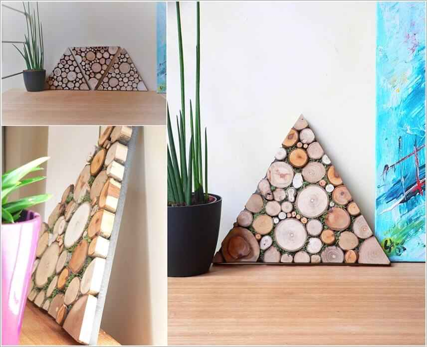15 проектов предметов декора из спилов дерева 9 | Дока-Мастер