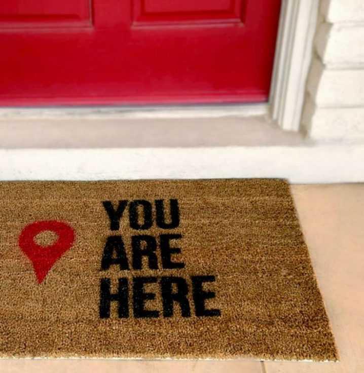 Необычные идеи ковриков перед дверью 8 | Дока-Мастер