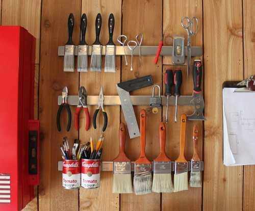 Как хранить вещи дома при помощи магнитов