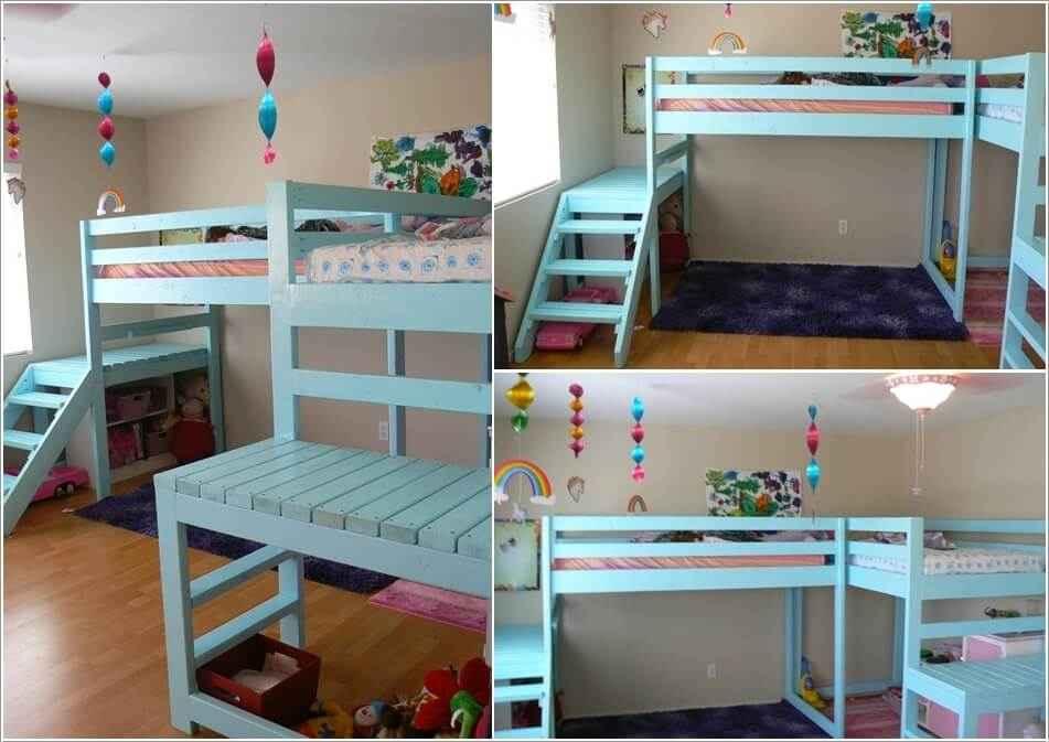 Кровати для маленьких квартир. Оригинальные идеи 8 | Дока-Мастер