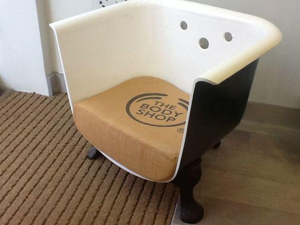 Как сделать современное кресло из старой ванны 9 | Дока-Мастер