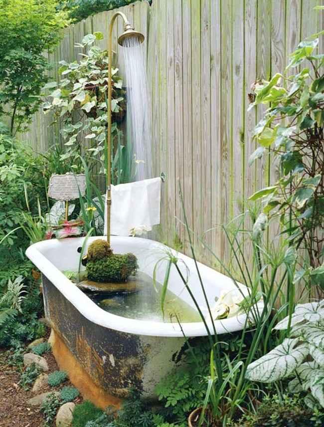 10 проектов садовых прудиков из ванны своими руками 9 | Дока-Мастер