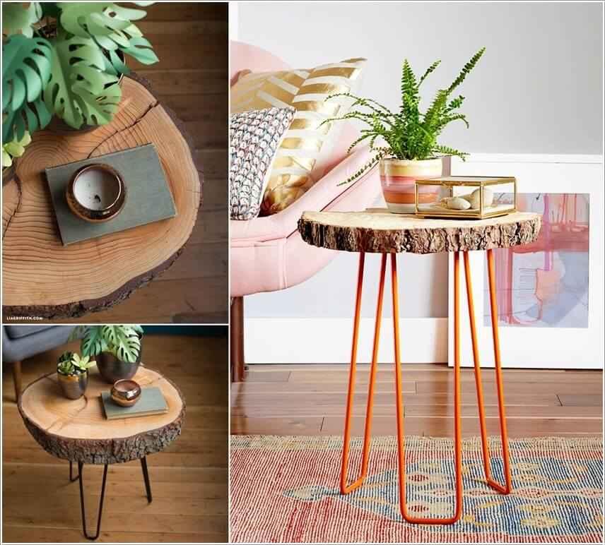 15 проектов предметов декора из спилов дерева 10 | Дока-Мастер