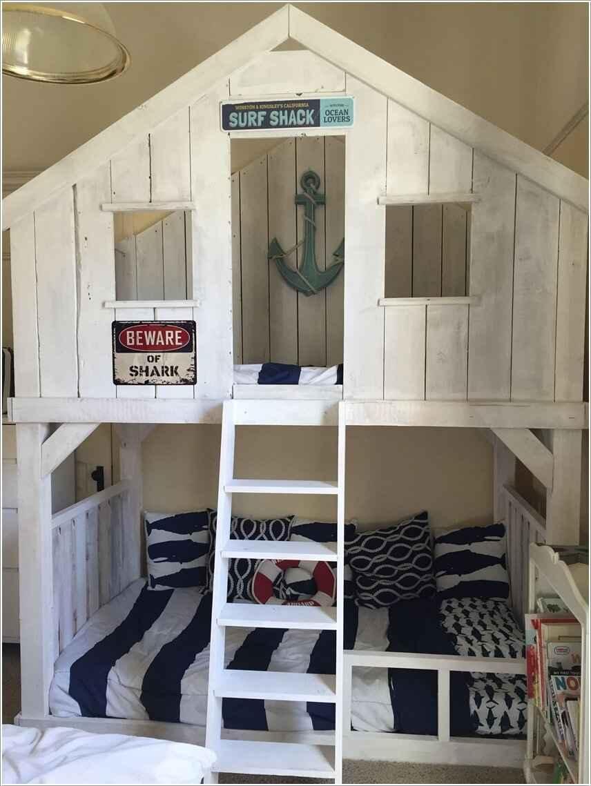 Кровати для маленьких квартир. Оригинальные идеи 9 | Дока-Мастер