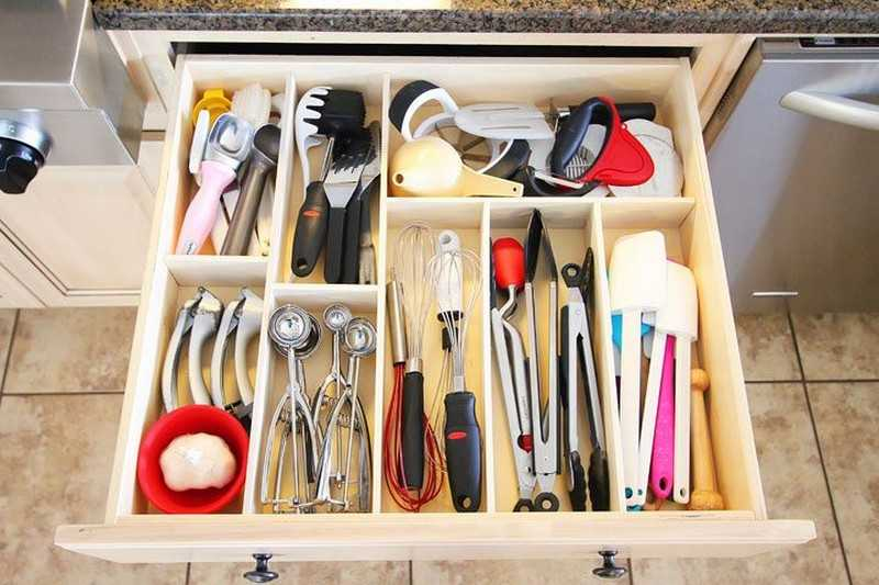 5 советов для хранения в кухне