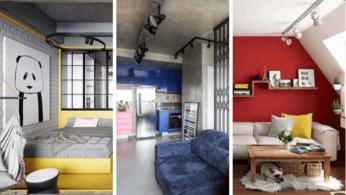 Идеи оформления маленьких квартир. Правила и примеры 8   Дока-Мастер