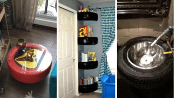 25 идей использования шин для украшения интерьера 37 | Дока-Мастер