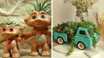 Интересные идеи цветочных горшков для детской, и не только 1 | Дока-Мастер