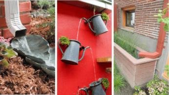 10 интересных идей устройства водостока 64 | Дока-Мастер