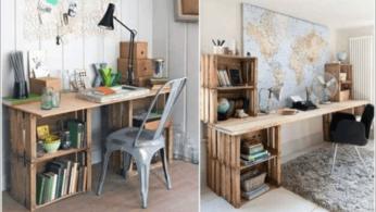 10 идей мебели из ящиков 65 | Дока-Мастер