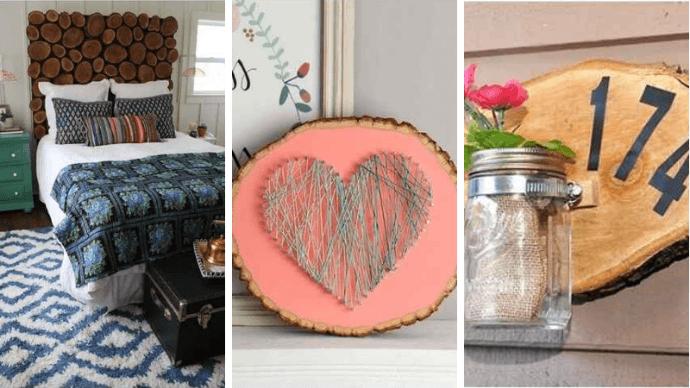 15 проектов предметов декора из спилов дерева 1 | Дока-Мастер