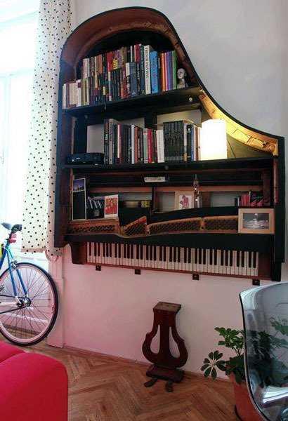 Как можно использовать ненужные музыкальные инструменты 1 | Дока-Мастер