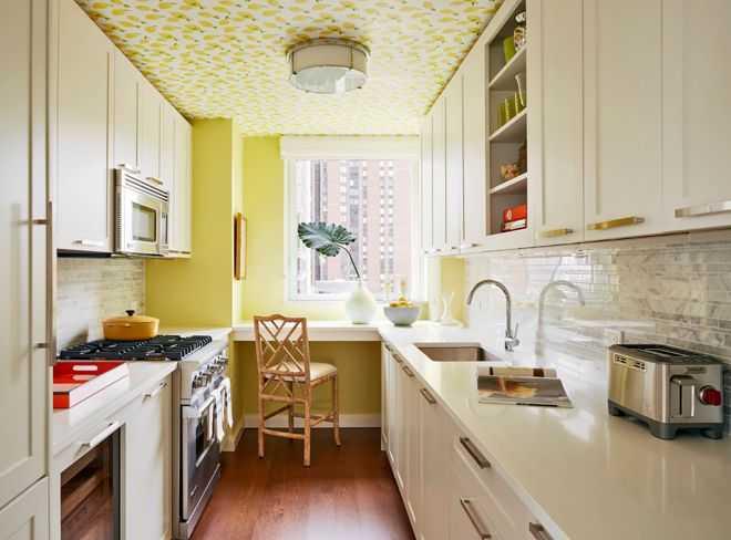 9 примеров узких кухонь 1   Дока-Мастер