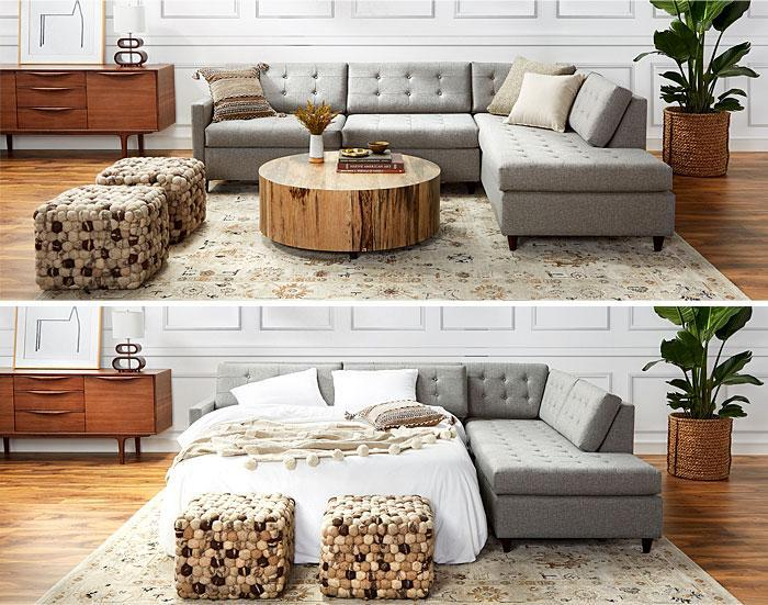 Идеи которые помогут спрятать гостевую кровать 1 | Дока-Мастер