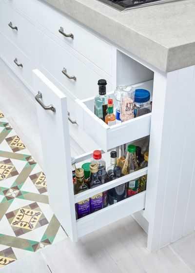 Скрытые возможности хранения на кухне 10 | Дока-Мастер