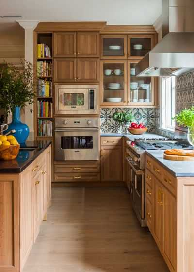 9 примеров узких кухонь 10   Дока-Мастер