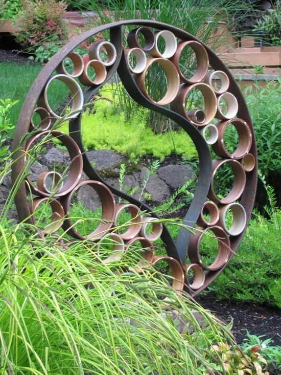 Стильные элементы декора из труб ПВХ 9 | Дока-Мастер