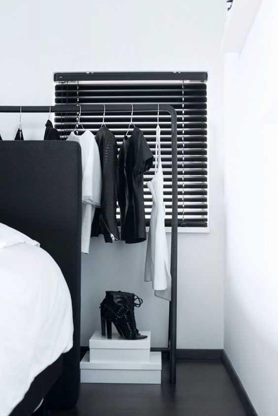 Стильные альтернативы платяному шкафу 11 | Дока-Мастер