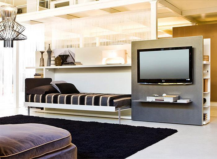 Идеи которые помогут спрятать гостевую кровать 11 | Дока-Мастер