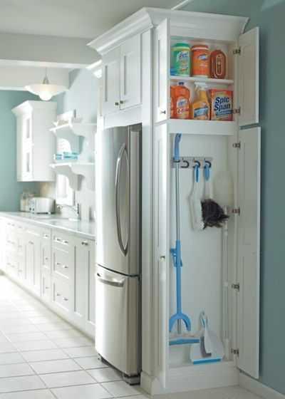 Скрытые возможности хранения на кухне 12 | Дока-Мастер