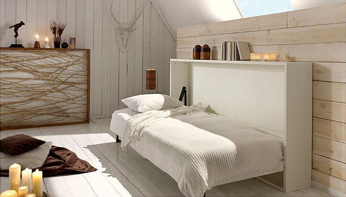 Идеи которые помогут спрятать гостевую кровать 13 | Дока-Мастер