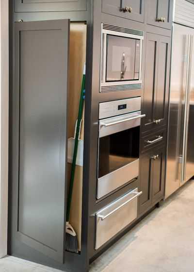 Скрытые возможности хранения на кухне 14 | Дока-Мастер