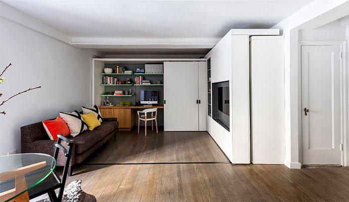 Идеи которые помогут спрятать гостевую кровать 14 | Дока-Мастер