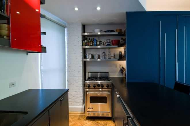 Современная кухня от Michael K Chen Architecture