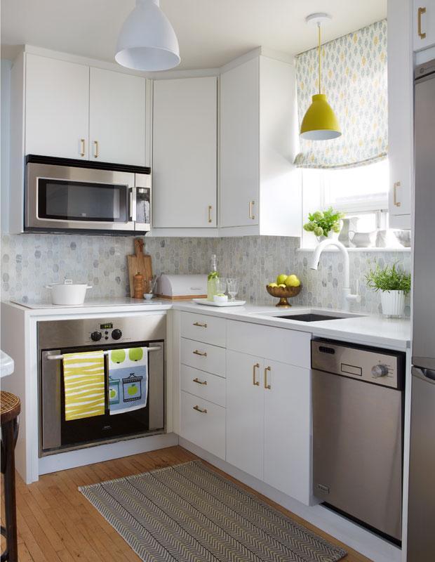 20 секретов удобства маленьких кухонь 15 | Дока-Мастер