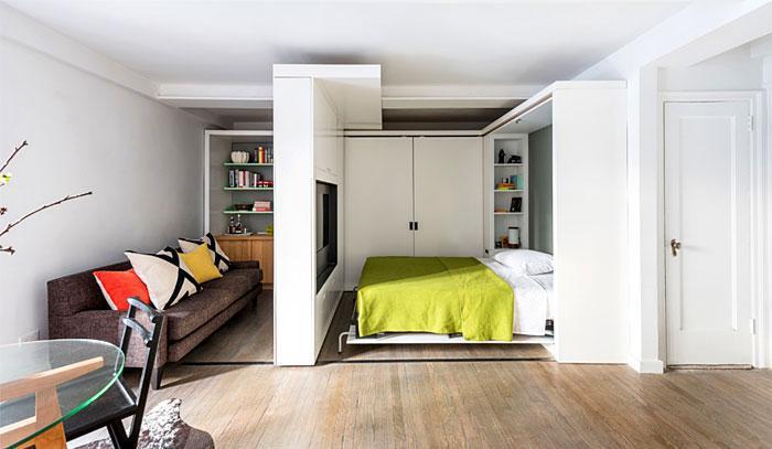 Идеи которые помогут спрятать гостевую кровать 15 | Дока-Мастер