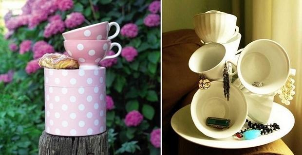 Потрясающие идеи самоделок из чашек и чайников