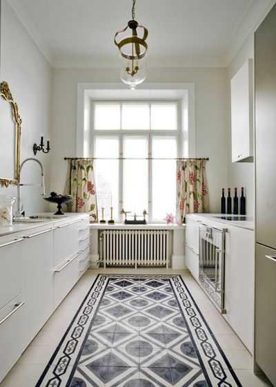 9 примеров узких кухонь 2   Дока-Мастер