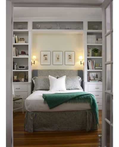 10 маленьких спален, которые кажутся большими 3 | Дока-Мастер