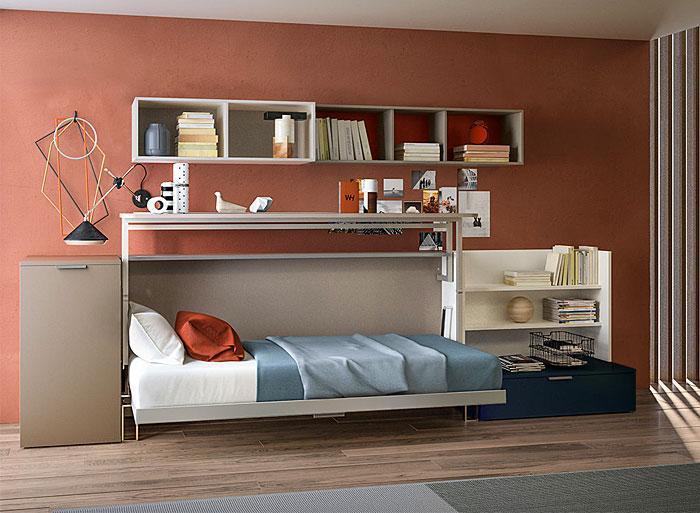 Идеи которые помогут спрятать гостевую кровать 20 | Дока-Мастер