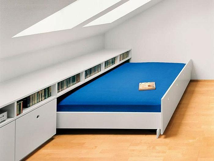 Идеи которые помогут спрятать гостевую кровать 22 | Дока-Мастер