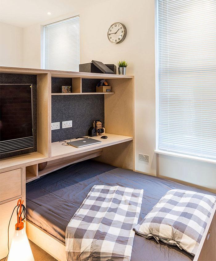 Идеи которые помогут спрятать гостевую кровать 26 | Дока-Мастер