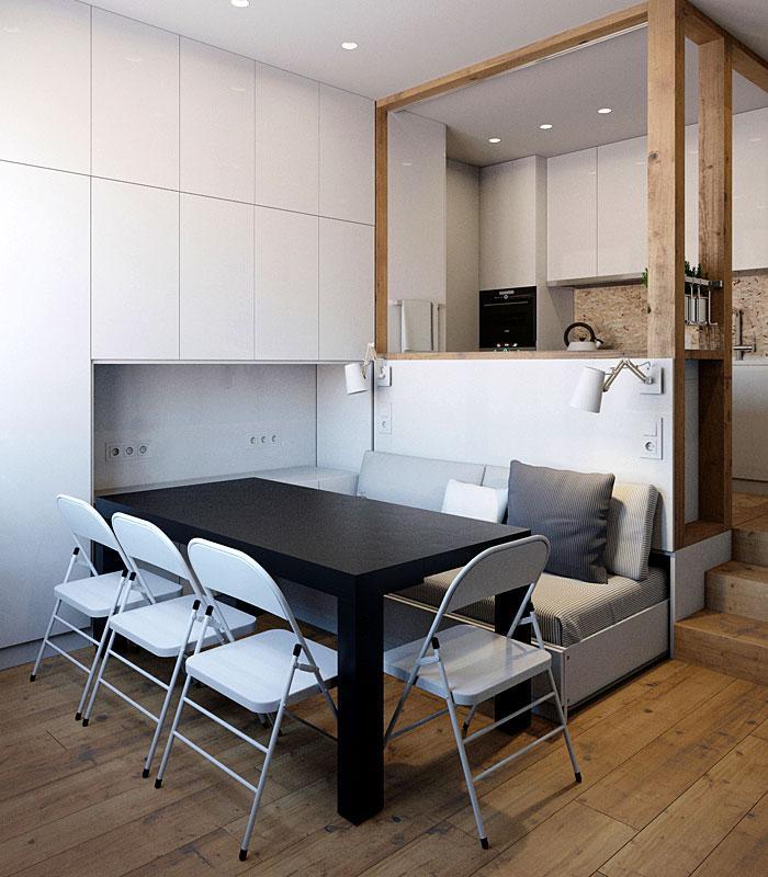 Идеи которые помогут спрятать гостевую кровать 29 | Дока-Мастер