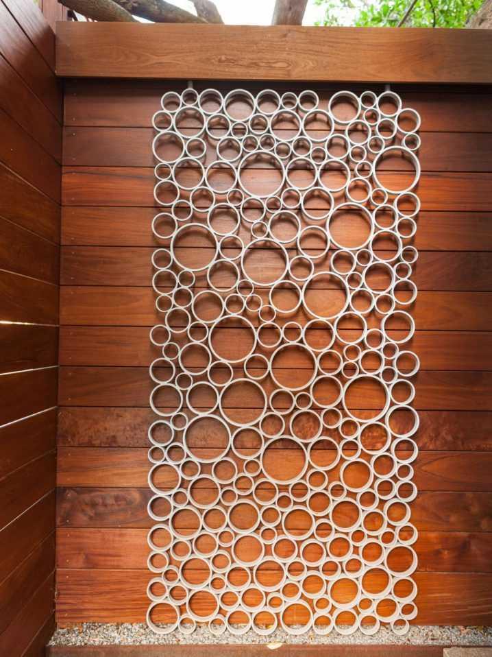 Стильные элементы декора из труб ПВХ 2 | Дока-Мастер
