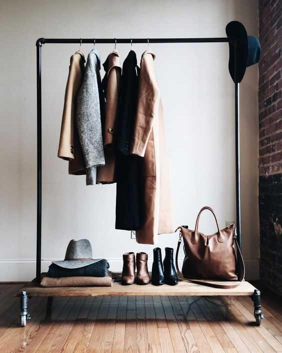 Стильные альтернативы платяному шкафу 4 | Дока-Мастер