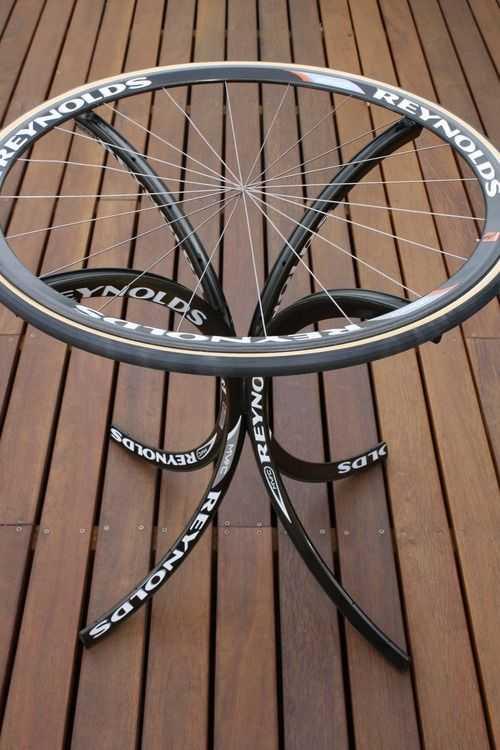 Интересные идеи домашнего декора из старого велосипедного колеса 3 | Дока-Мастер