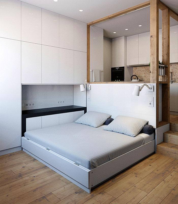 Идеи которые помогут спрятать гостевую кровать 30 | Дока-Мастер